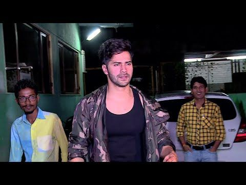 Varun Dhawan At Ganesh Aacharya Dance Academy For Dream Tour.