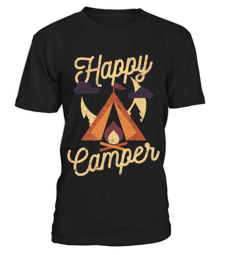 Happy Camper   funny camping shirts, camp shirt women, camp crystal lake shirt, camping ideas #camping #campingshirt #campingquotes #hoodie #ideas #image #photo #shirt #tshirt #sweatshirt #tee #gift #perfectgift #birthday #Christmas