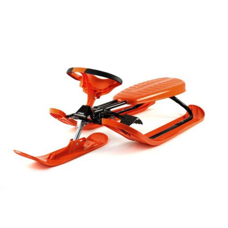 VEDES Snow Racer Pro orange T #snowracer #schneerutscher #wintersport #spaßimschnee #schlitten #schlittenfahren #winterspaß #schnee  #kinder