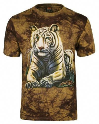 b00dcdc2 mens tie dye 3D tiger t shirts hip hop animal camouflage short sleeve tee-  #menst-shirtspattern