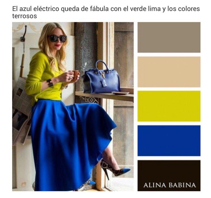 Verde lima outfit pinterest combinaciones - Que colores combinan con el amarillo ...