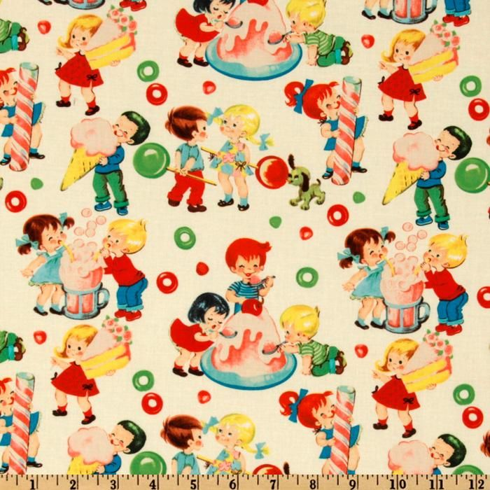 Micheal Miller Retro Fabric Collection