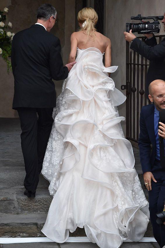 14 best Michelle Hunziker\'s Wedding images on Pinterest   Wedding ...