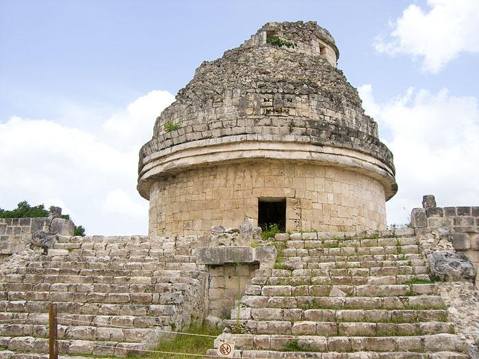 Astronomy Temple, Chichen Itza, Cancun, Mexico | Maya ...