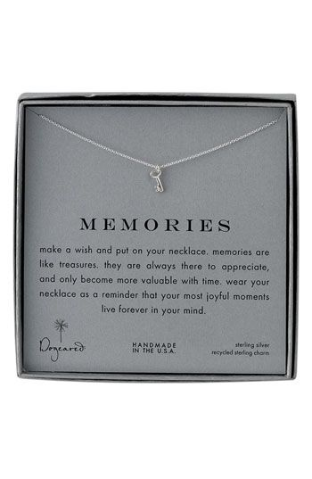 Dogeared 'Infinite Love' Reminder Pendant Necklace | Nordstrom