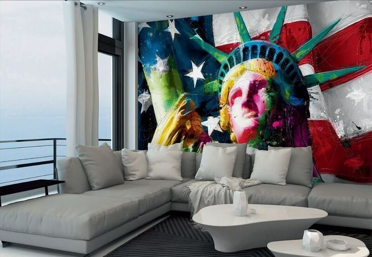 Statue of Liberty Wallpaper Dimensions: 2,53 x 3,66 Meter Special Price: 75,00 €