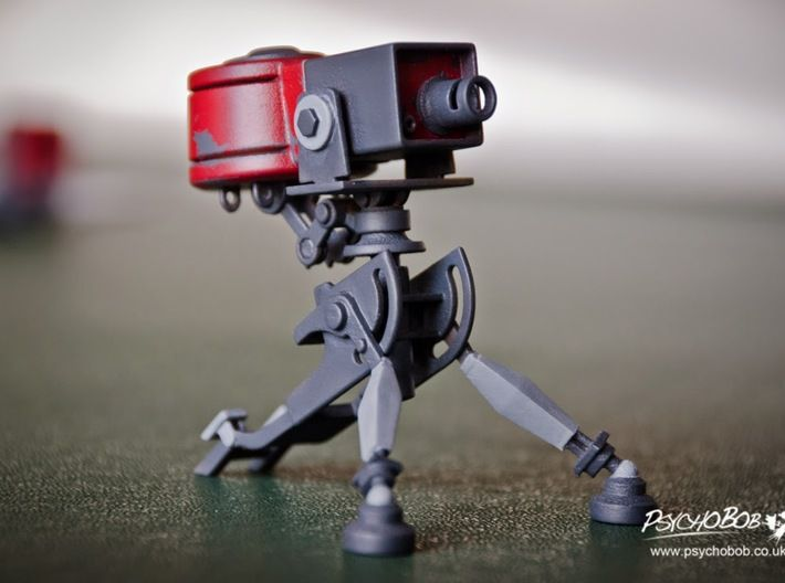 Team Fortress 2 Sentry Level 1 By Psychobob On Shapeways Team Fortress Team Fortress 2 Fortress