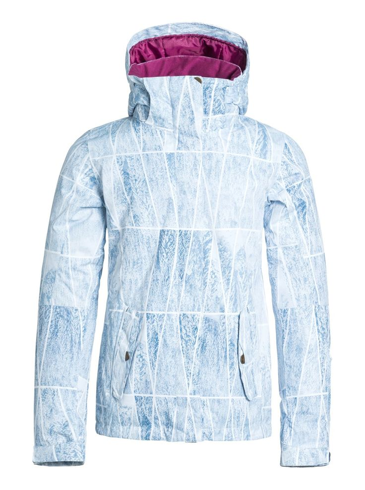 roxy, Jetty Snowboard Jacket, Azalea - Pattern_2 (mna7)