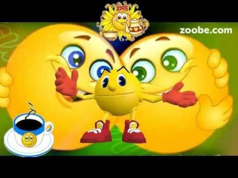 Guten Morgen - der fröhliche Weckdienst ist da   Biene Maja   Kaffee, Zoobe, Animation - YouTube