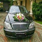 TOKO BUNGA JAKARTA: Bunga Mobil Pengantin