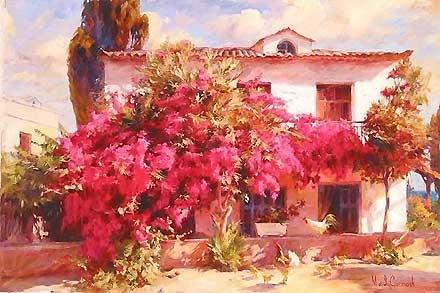 Summer in the Country - Michael and Inessa Garmash - World-Wide-Art.com - $850.00 #Garmash