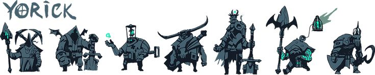 Reworked Yorick Concepts