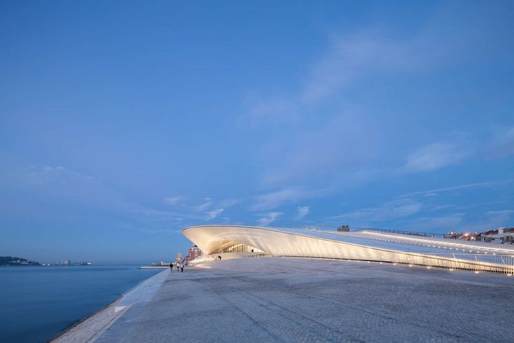 Cultural Curve: Amanda Levete's Museum of Art, Architecture and Technology Emerges from the Earth in Lisbon