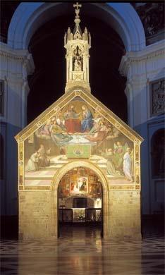 """La Porciuncula"", within the Basilica di Santa Maria degli Angeli, Assisi Perugia, Italia"
