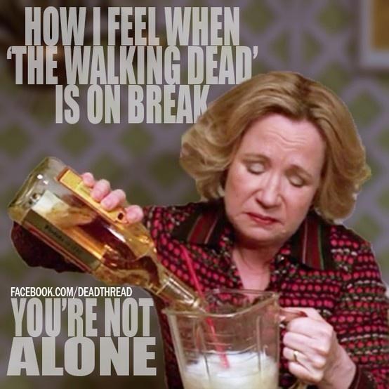 Walking Dead break