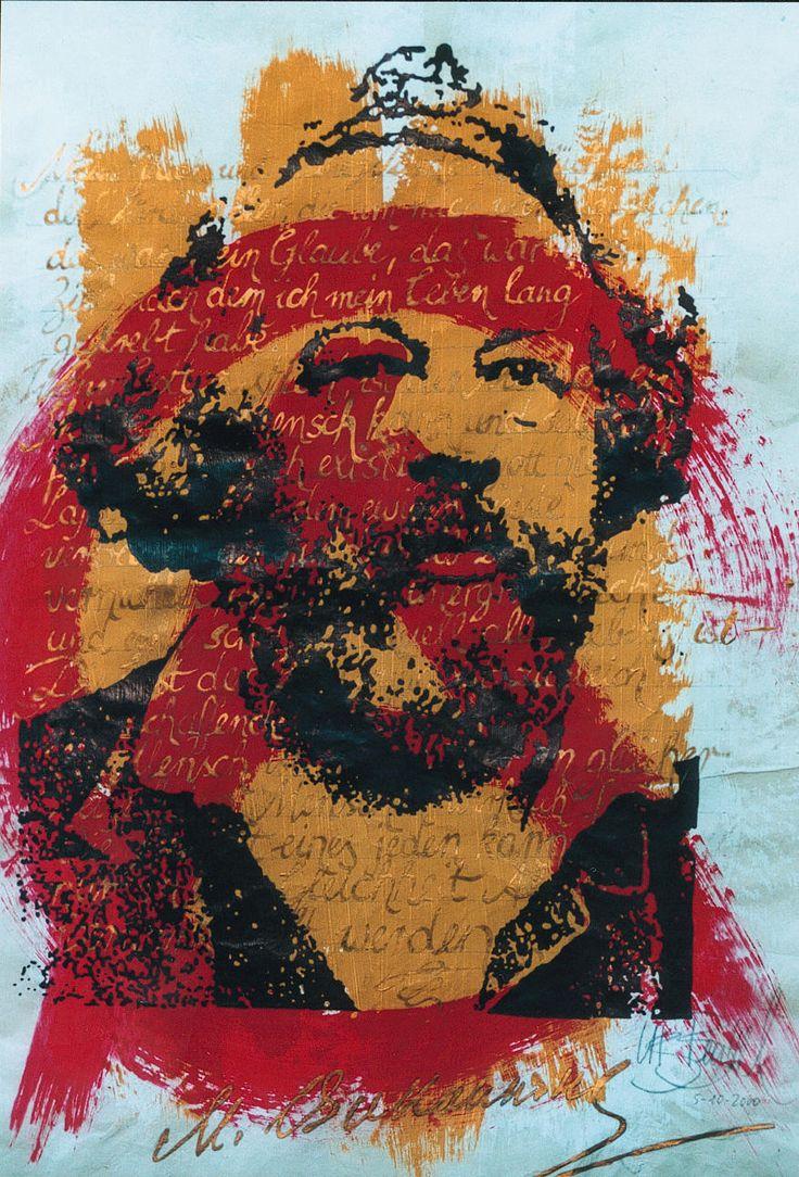 """""""A religião é uma insanidade coletiva"""" Mikhail Bakunin (1814-1876) Ⓐ"""