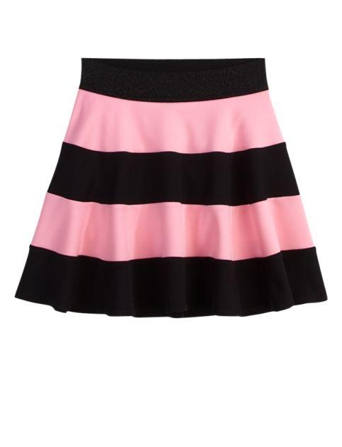 Rugby Stripe Skater Skirt   Girls Sale Skirts & Skorts Extra 30% Off Sale   Shop Justice
