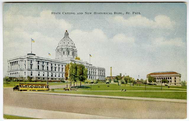 State Capitol, St. Paul, Minn, 1905
