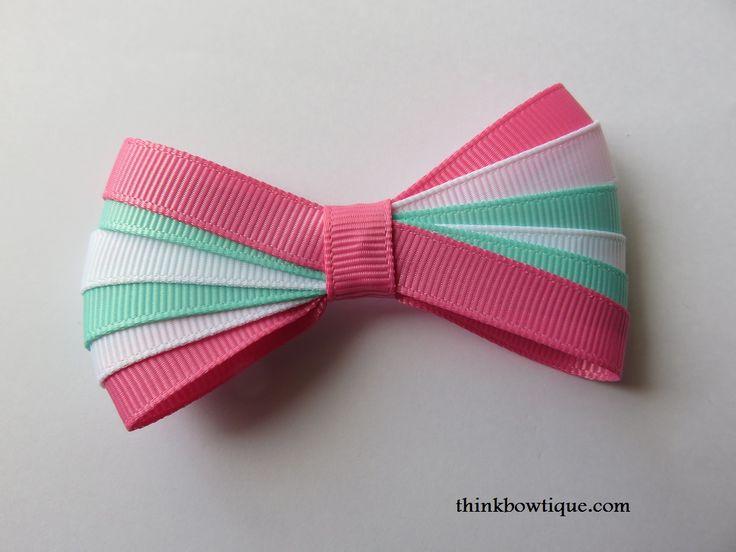 Make a ribbon layered bow