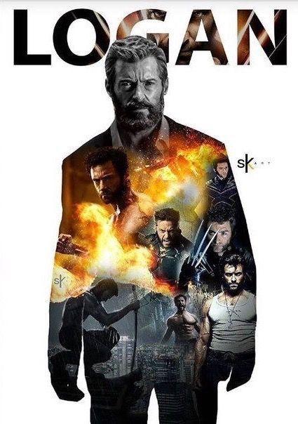 Logan/Wolverine (Past, present, future)