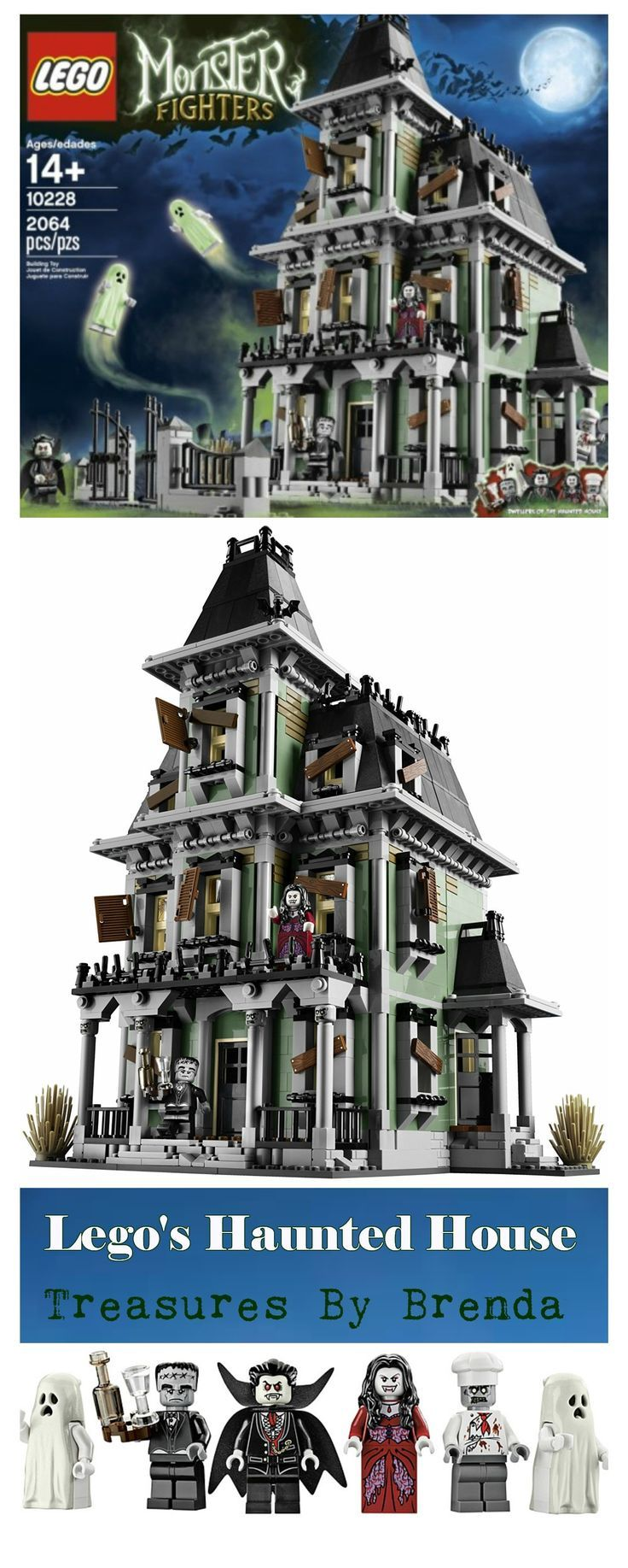 LOVE Lego's haunted house set.  It's perfect for Halloween, LOL.