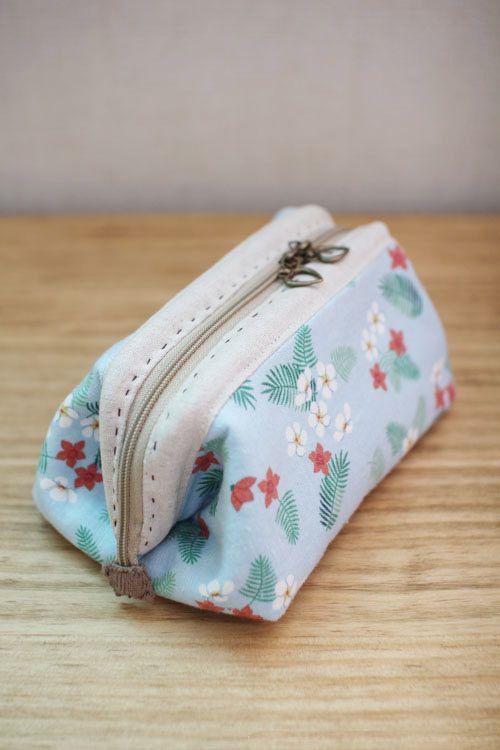 Cosmetic Bag Tutorial, Bags Tute, Cosmetics Bags Tutorials, Diy Makeup Bags Tutorials