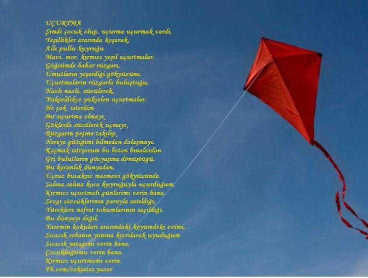 #şiir #uçurtma #zekiates
