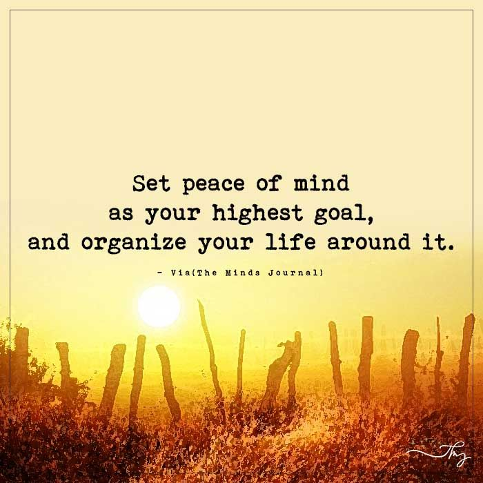 Peace Of Mind Quotes: 17 Best Ideas About Peace Of Mind On Pinterest