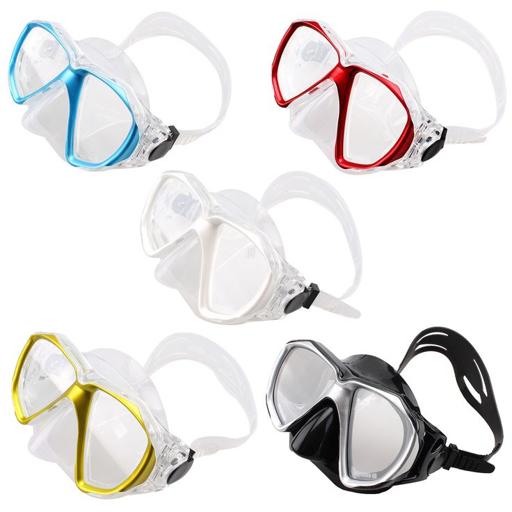 Safe Professional Scuba Diving Mask Silicone Mask Snorkel Durable Wear Resistant Diving Masks Set Soft Comfortable Mask