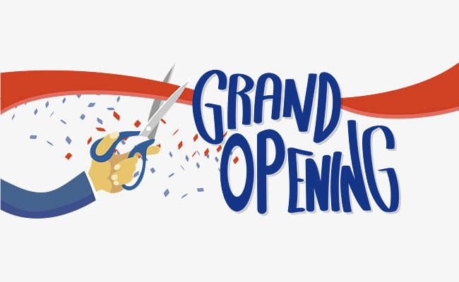 grand opening ceremony vector png
