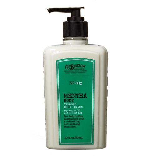 C.O. Bigelow Mentha Vitamin Body Lotion - No. 1412  Stops mosquito bite itch almost instantly. Better than Benadryl spray or hydrocortisone cream. - worth a try I guess