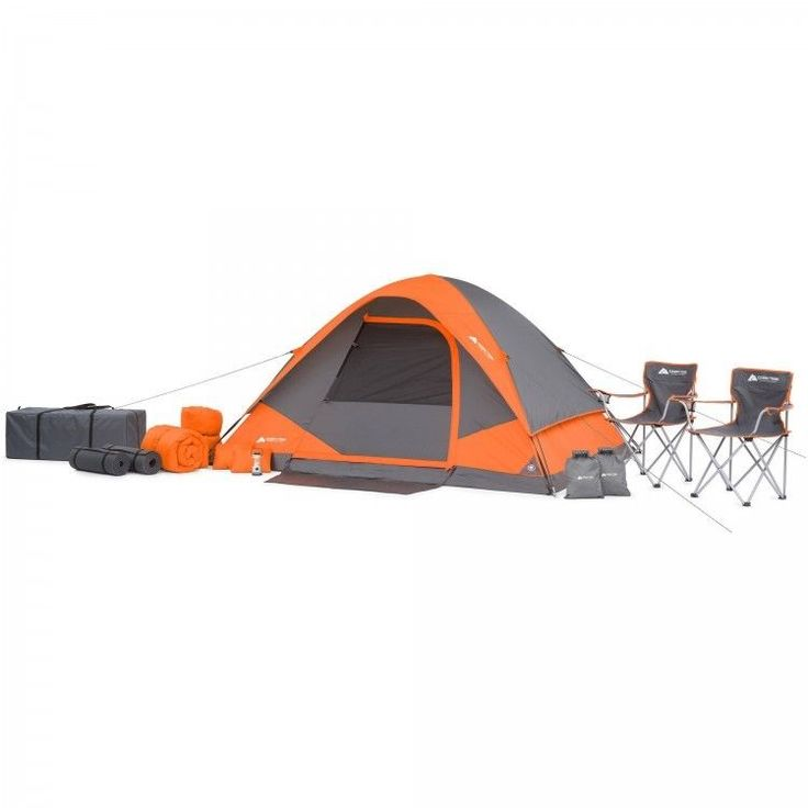 Camping Tent Set Family Outdoors Picnic 22 Pieces 4 Person Fishing Canopy Chairs #CampingTentSet