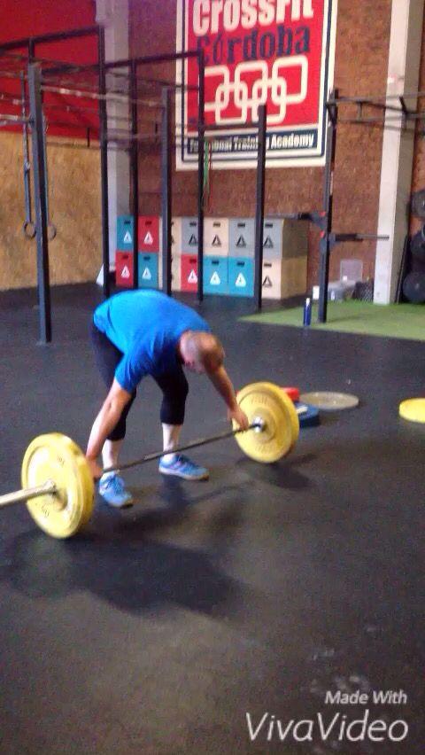 Snatch + Push Jerk BackNeck con nuestro gran atleta Juanma López. Buen trabajo máquina!  https://www.facebook.com/CrossFitCordobaBox/videos/1010593805721152/  #crossfit #crossfiter #crossfitcordoba #cordoba #cordobaesp #halter #thebarbellwod #strong #snatch #pushjerk #weightlifting #crossfitweightlifting #heavyday #snatchprogression #xenios #crossfitlife #barbellforboobs #nonstop #workout #fitness #gym #strongman #bethebest