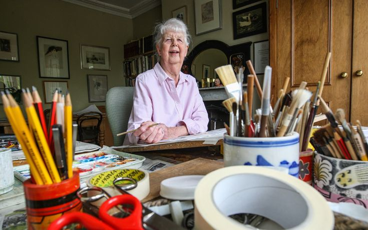 Judith Woods meets Shirley Hughes, the nation's favourite illustrator, who has   been awarded a lifetime achievement award for her 270-plus children's books