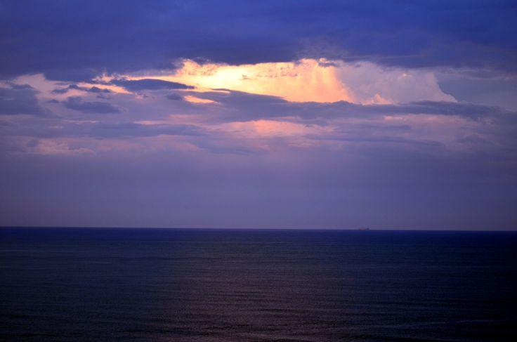 Black Sea after storm