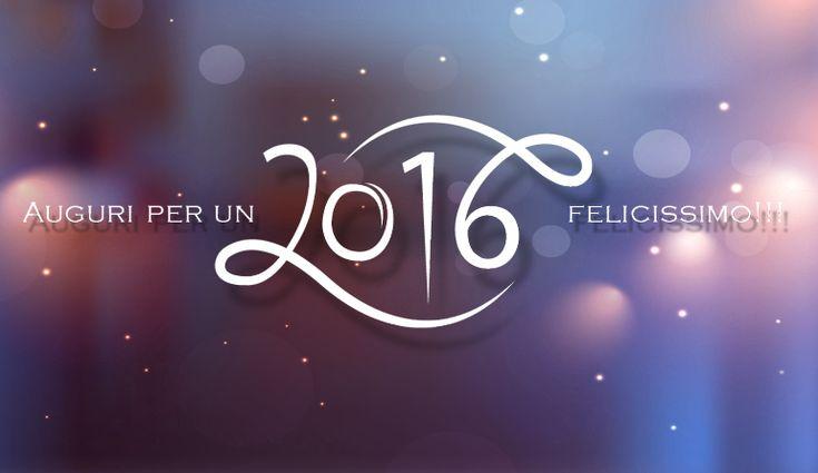 Auguri per un felicissimo 2016!!!
