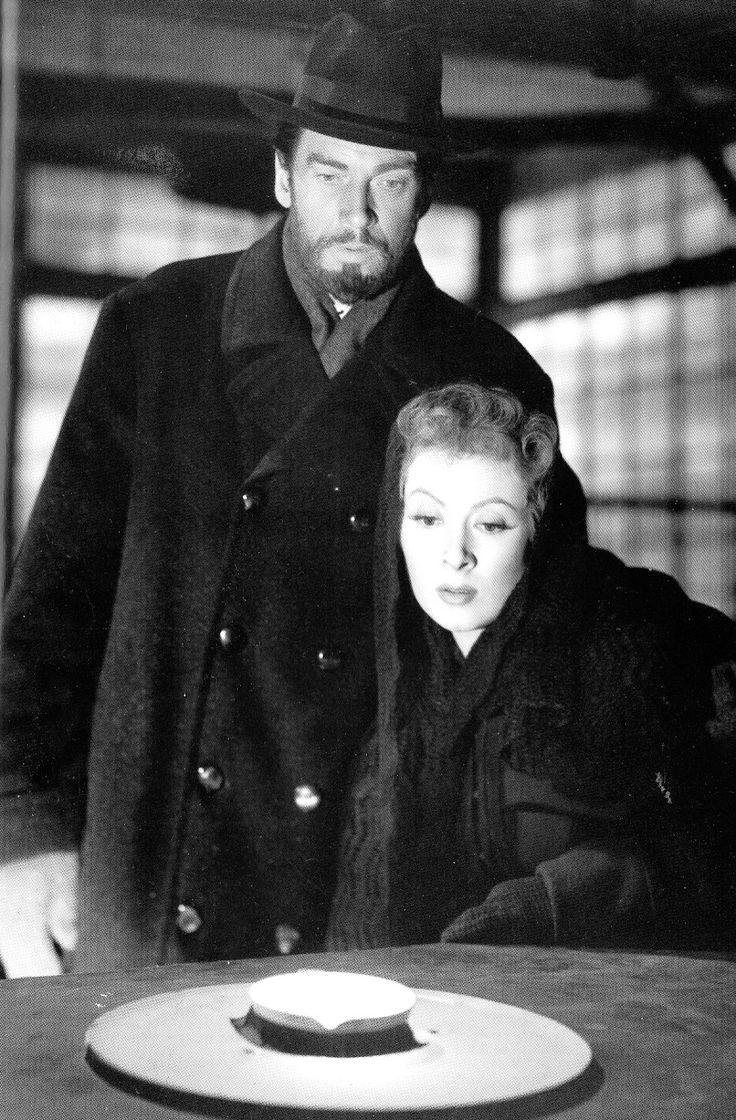 """Walter Pidgeon y Greer Garson en """"Madame Curie"""", 1943"""