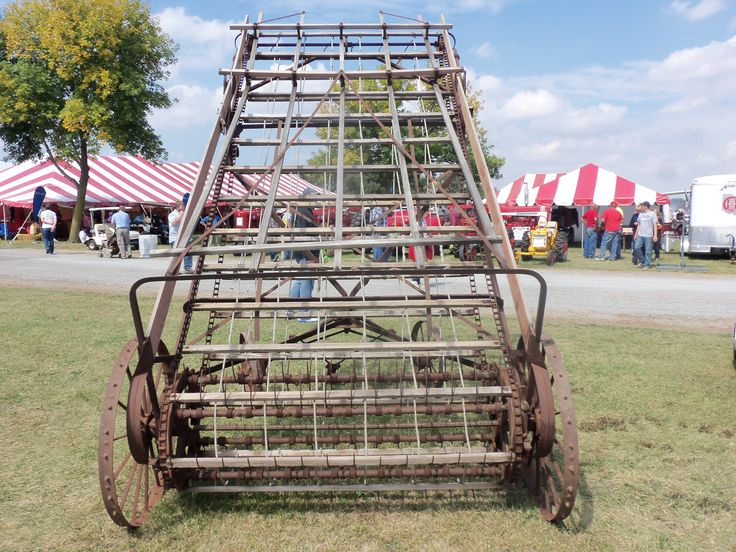 Hay Tractor With Loader : Old hay loader farm equipment pinterest and tractor