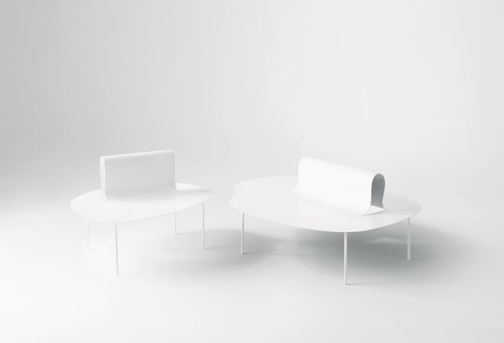 desalto's softer than steel furniture collection by nendo delicately folds like paper - designboom | architecture