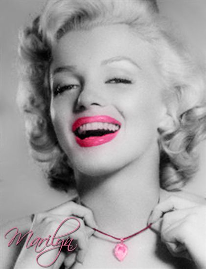 ❤Marilyn Monroe ~*❥*~❤: Tickled Pink by vintage-queen