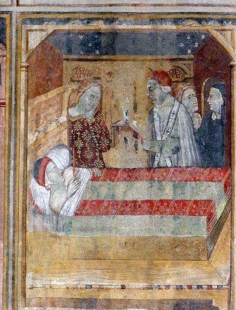 L'oratorio di S. Stefano a Lentate sul Seveso  Leggenda di S. Stefano, riquadro 31. La morte del senatore Alessandro.