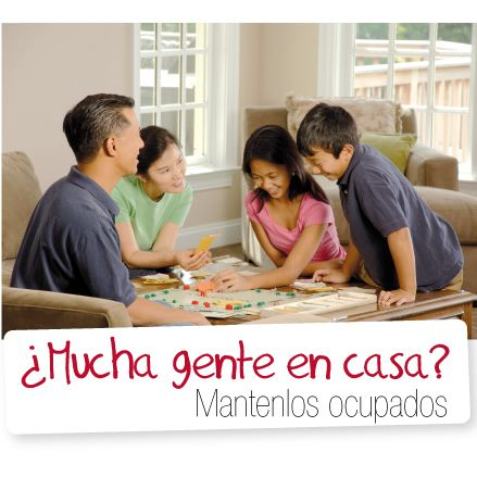 ¿Mucha gente en casa? Mantenlos ocupados  http://www.inkomoda.com/mucha-gente-en-casa-mantenlos-ocupados/