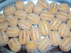 Minichurros fritos