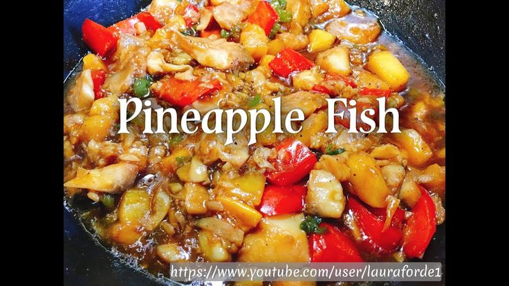 How To Make Pineapple Fish