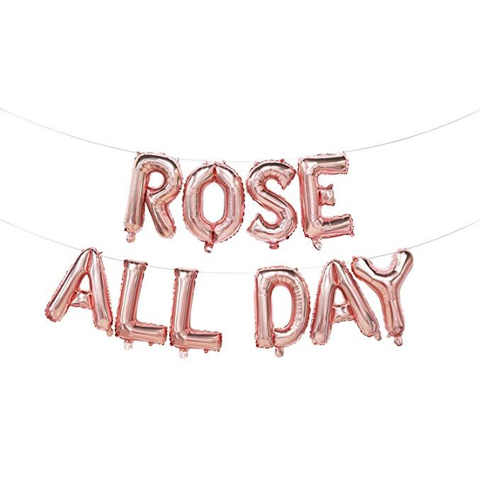 Amazon Com Rose All Day Balloons Rose All Day Banner Rose All