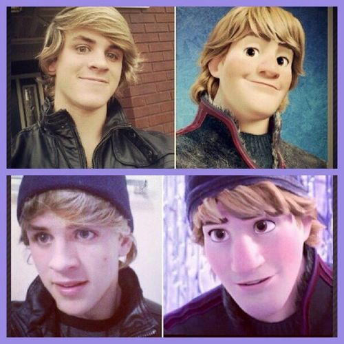 Look alike Dem White Boyz let's face it cole LaBrant looks just like Kristoff