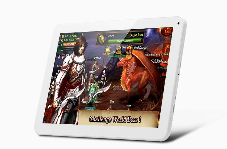 Venstar 4050 10.1 Inch Tablet - Android 4.4 OS, RK3188T Quad Core A9 1.4GHz CPU, Quad-Core Mail-400 GPU