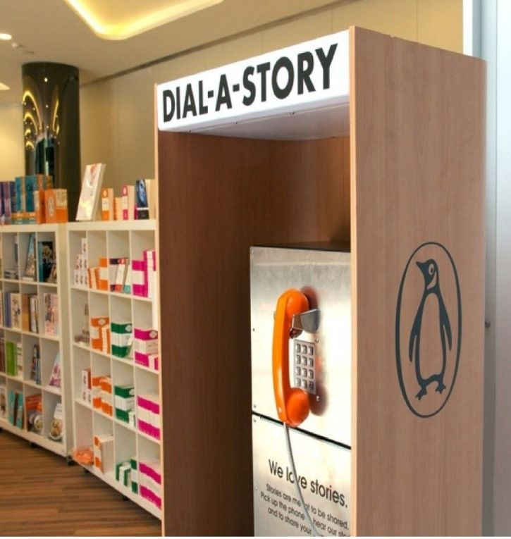 Great Experiential Marketing: Penguin Books Australia's 'Dial-a-Story'