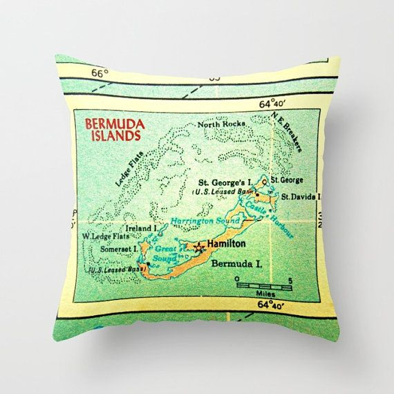 Anniversary Vacation In Bermuda: 241 Best Images About Vintage Map / Globe Obsession On