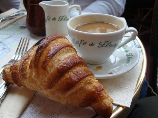 Croissant Creme at Le Flore